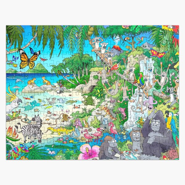 Mermaid Island Jigsaw Puzzle