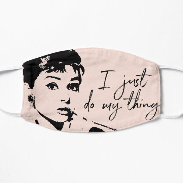 Audrey Hepburn, I Just Do My Thing. Flat Mask