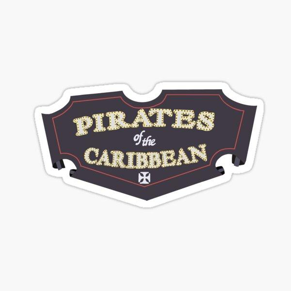 pirates des Caraïbes Sticker