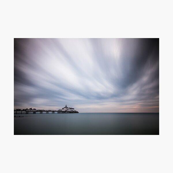 Eastbourne pier - 10minute exposure Photographic Print