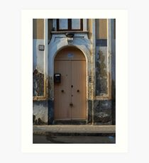 Magician's Door. Catania, Sicily 2013 Art Print