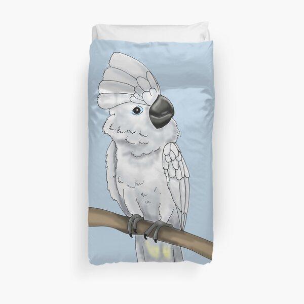 Umbrella Cockatoo Duvet Cover