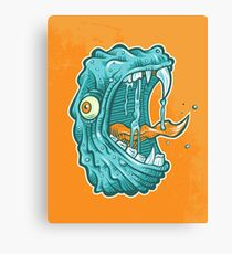 C is for Chompzilla Canvas Print