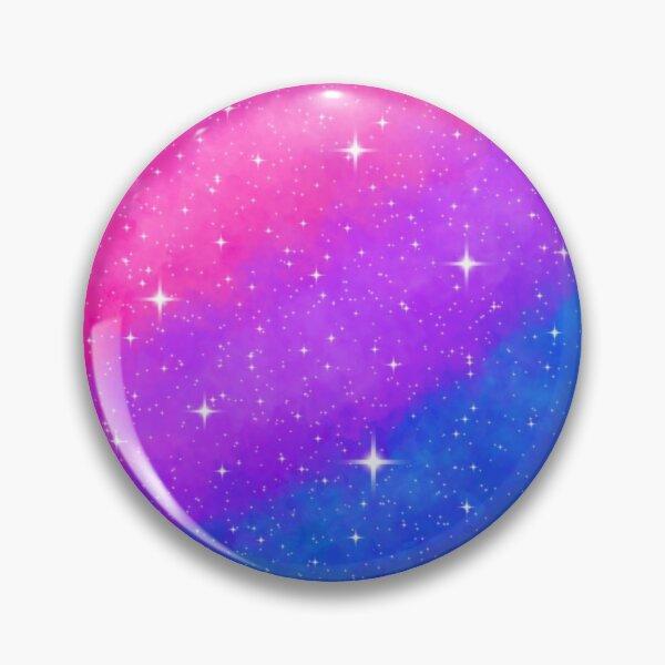 Bisexual Pride Flag Galaxy Pin Pin