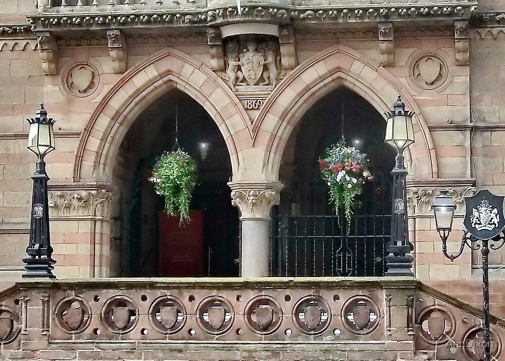 Chester Town Hall Entrance by AnnDixon