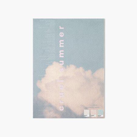Grausamer Sommer Taylor Swift Poster Galeriedruck