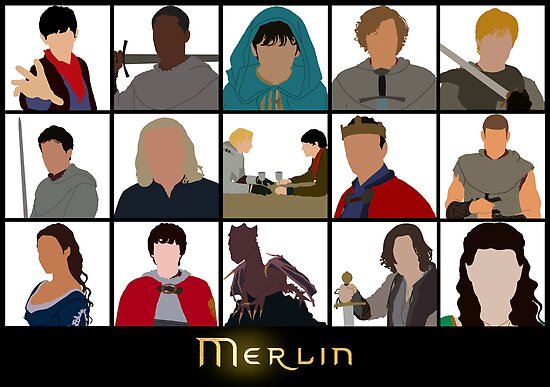 Characters Of Merlin by BethXP
