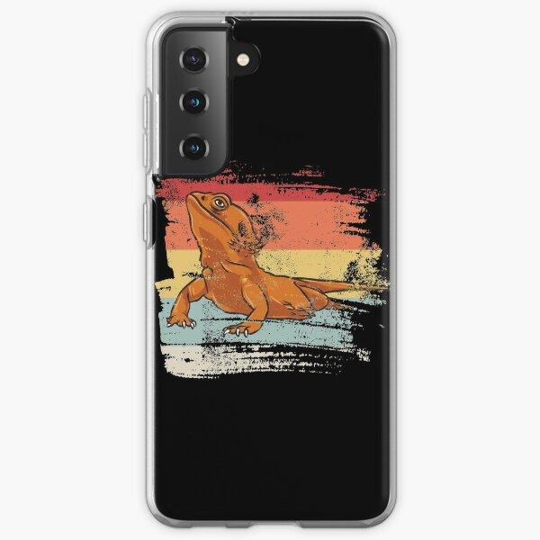Retro Bearded Dragon Samsung Galaxy Soft Case