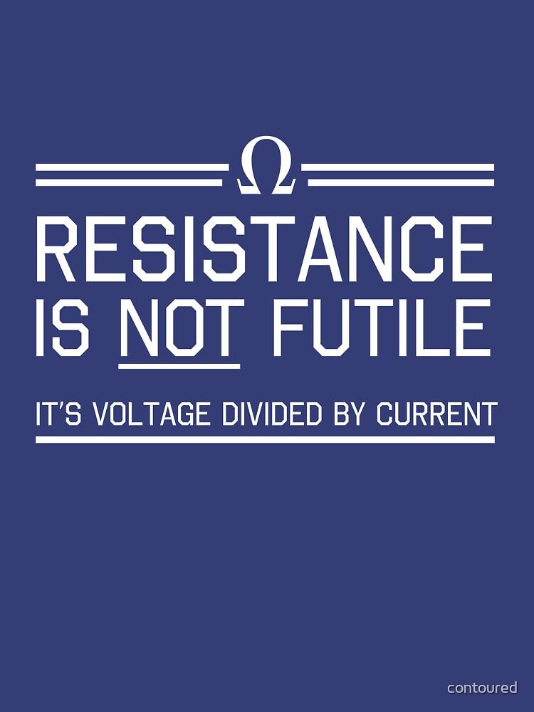Resistance is not futile | Unisex T-Shirt