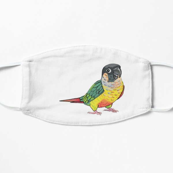 Screaming Yellow-sided Conure Mask