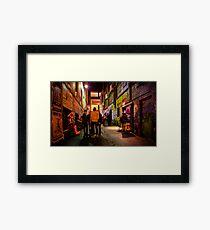 Cherry Bar Framed Print