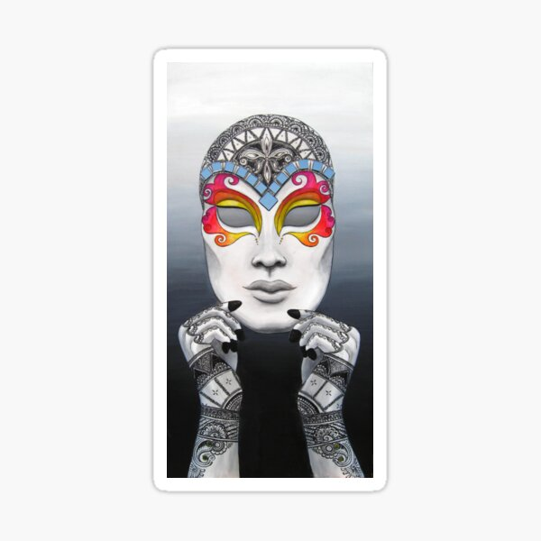 Harlequin Sticker