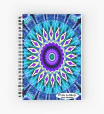 Blue and Purple Mandala Journal Spiral Notebook