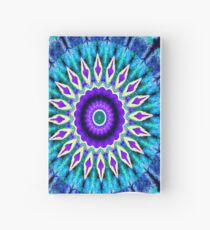Blue and Purple Mandala Journal Hardcover Journal