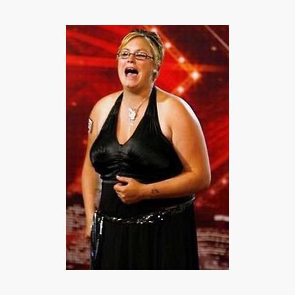 TV ICONS- KELLY FROM XFACTOR Photographic Print