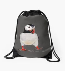 Puffin Drawstring Bag