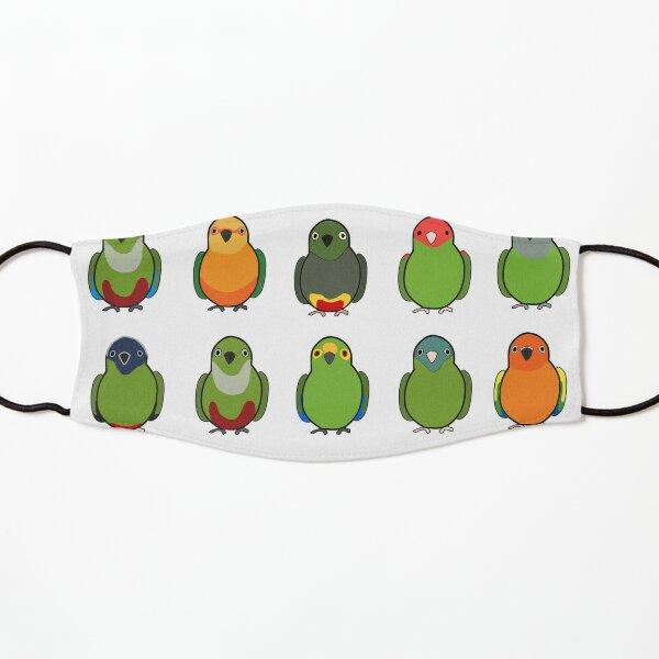 Flock of Conures Kids Mask