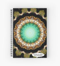 Black Gold Green Mandala Spiral Notebook Spiral Notebook
