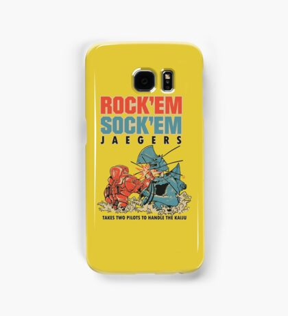 ROCK 'EM, SOCK 'EM JAEGERS Samsung Galaxy Case/Skin