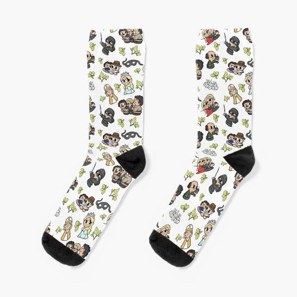 The Princess Bit White  Socks