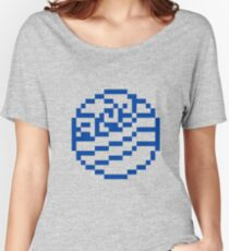 8bit Water Tribe Emblem 2 - 3nigma Women's Relaxed Fit T-Shirt
