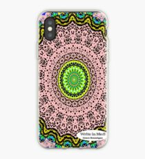 Pink Mandala Notebook and Journal iPhone Case