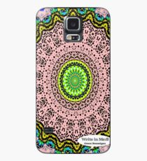 Pink Mandala Notebook and Journal Case/Skin for Samsung Galaxy
