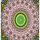 Pink Mandala Notebook and Journal by ExceptionalSilk