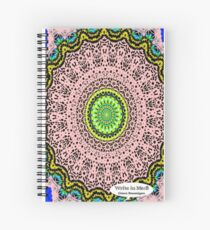 Pink Mandala Notebook and Journal Spiral Notebook