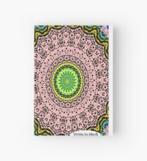 Pink Mandala Notebook and Journal Hardcover Journal