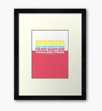 New Girl | Jess Quote Poster Framed Print