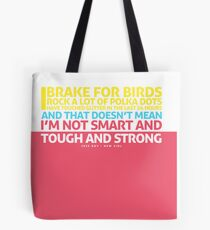 New Girl   Jess Quote Poster Tote Bag