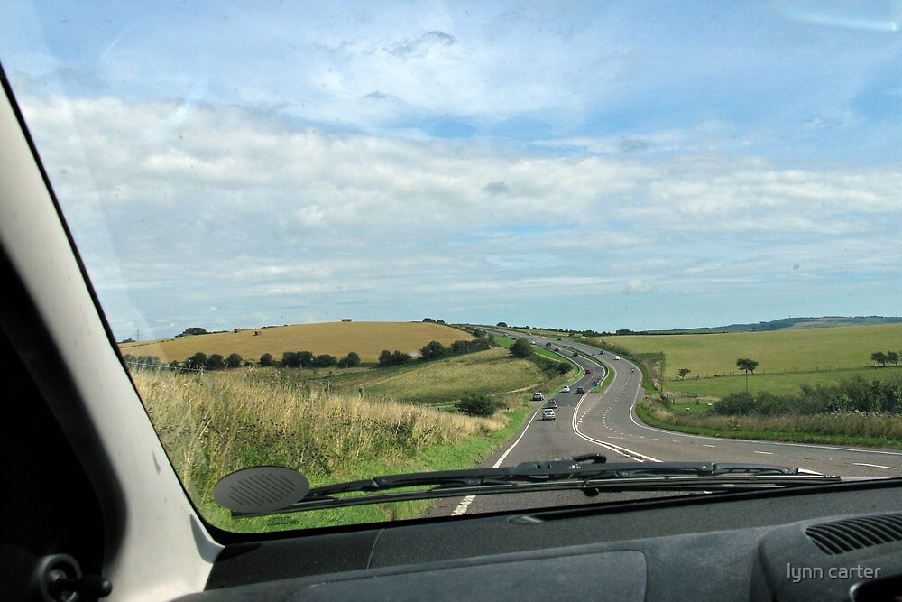 On The Road To Dorchester, Dorset, UK by lynn carter