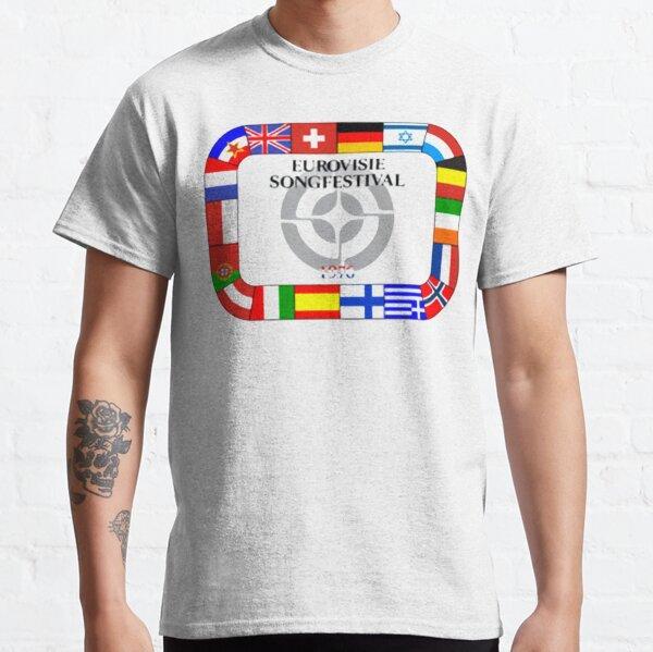 Camiseta Eurovision Song Contest 1976 Camiseta clásica
