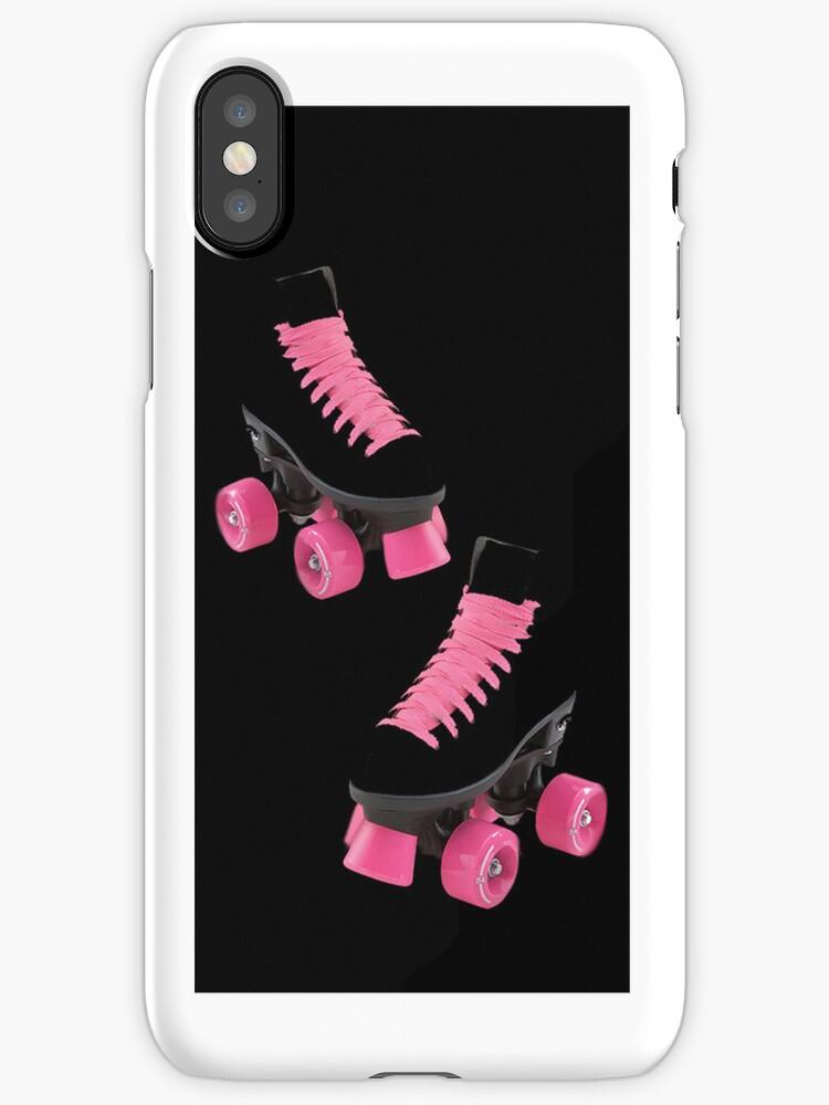 ♥•.¸¸.ஐI LUV ROLLER SKATING & ROLLER SKATES IPHONE CASE ♥•.¸¸.ஐ by ✿✿ Bonita ✿✿ ђєℓℓσ