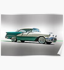 1956 Oldsmobile Rocket 88 Poster