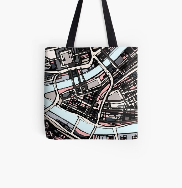 Pittsburgh, PA All Over Print Tote Bag