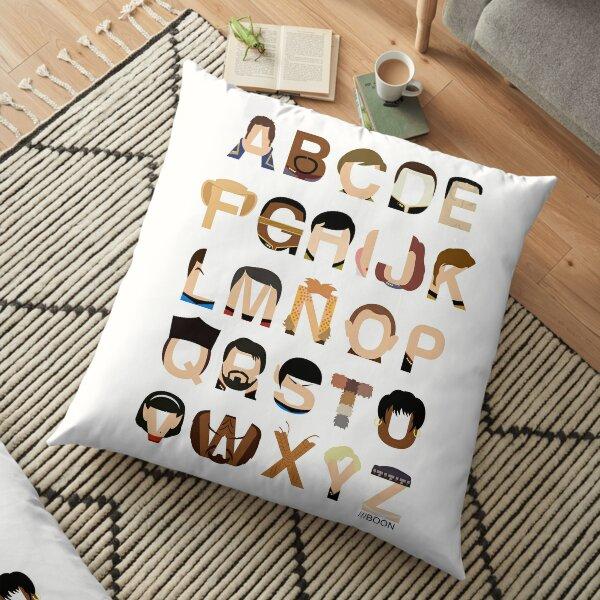 Star Trek Alphabet Floor Pillow