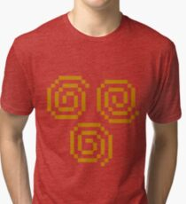 8bit Air Nomad Symbol2 3nigma Tri-blend T-Shirt