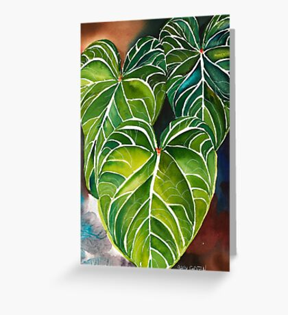 Tropical Greeting Card
