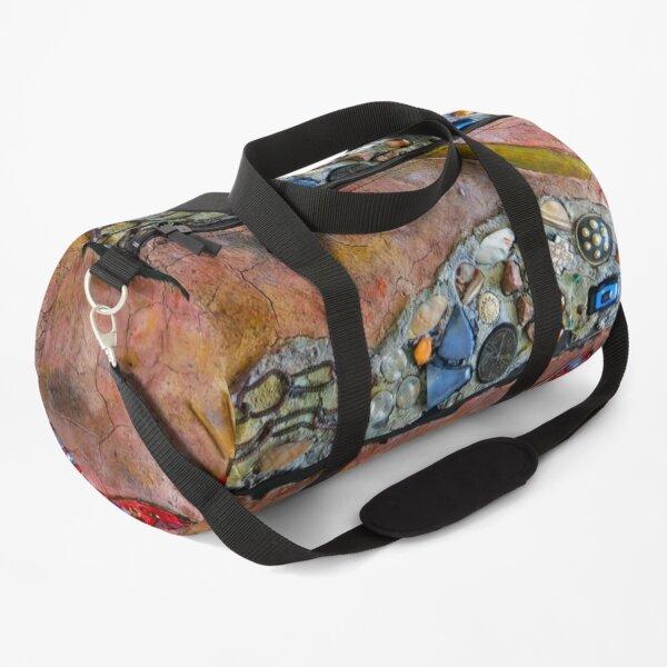 Dragonfly Fresco Art, Outdoor Patio Art, 3D Fresco Art, Duffle Bag