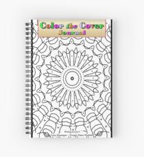 Color the Cover Journal and Sketchbook Spiral Notebook