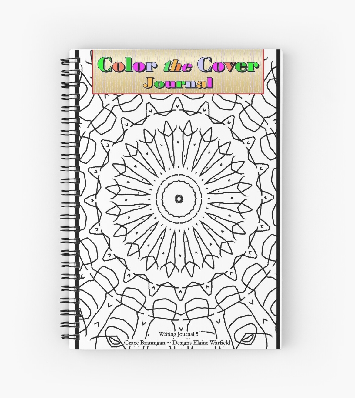 Color the Cover Journal and Sketchbook by ExceptionalSilk