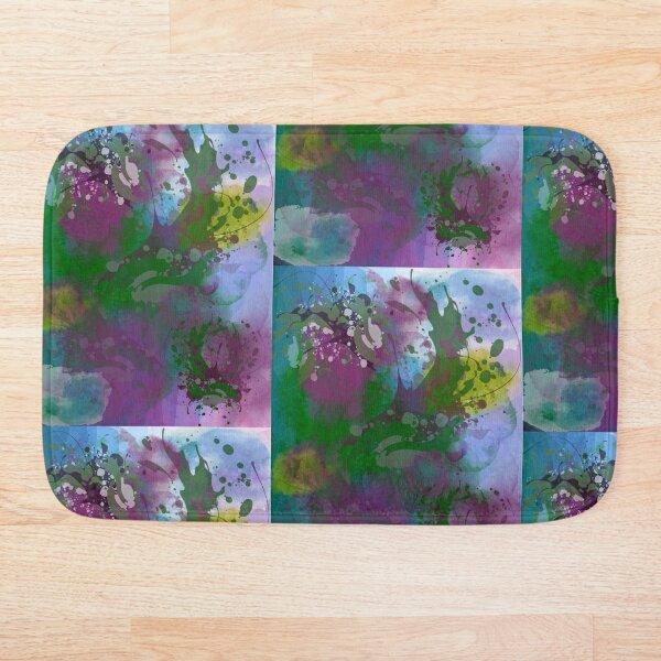 Abstract Art Design Bath Mat