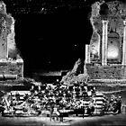 Teatro Greco, Taormina, Sicily. A Concert of Giovanni Allevi 2013 by Igor Pozdnyakov