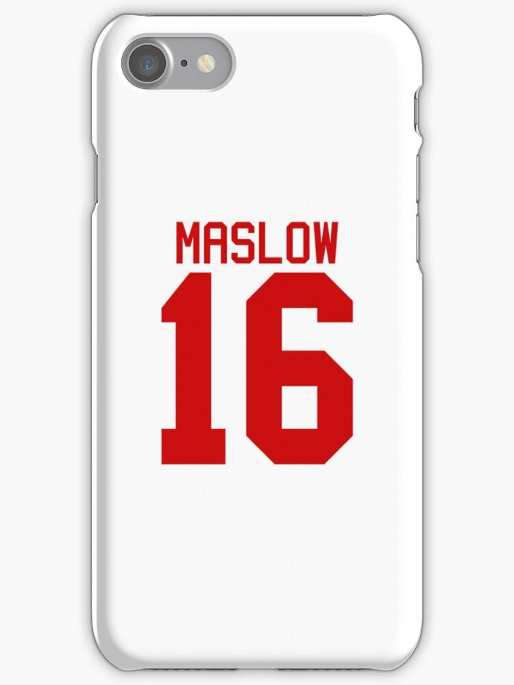 James Maslow jersey - red text by sstilinski