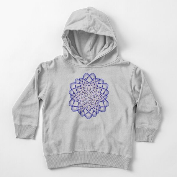 Abstract Blue Violet Atomic Swaps Toddler Pullover Hoodie