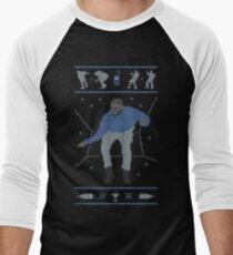 Holiday Bling (original) Men's Baseball ¾ T-Shirt