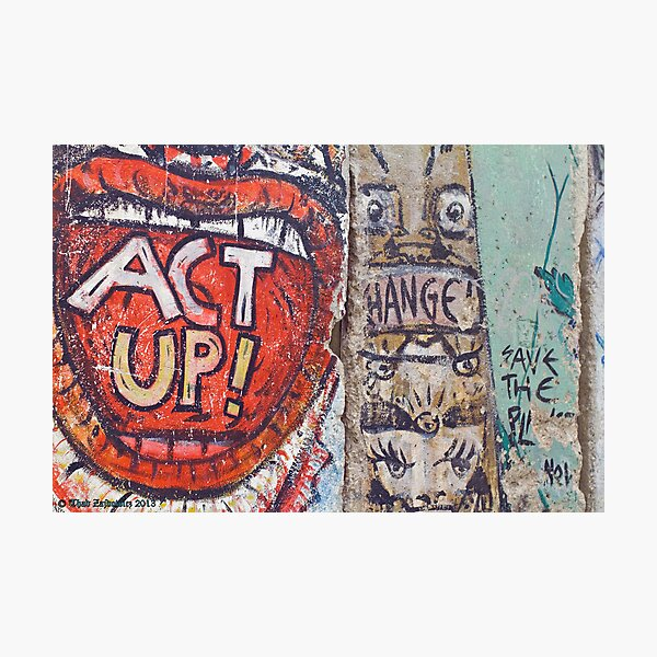 ACT UP! Photographic Print