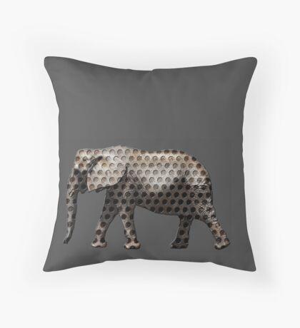holy elephant Throw Pillow